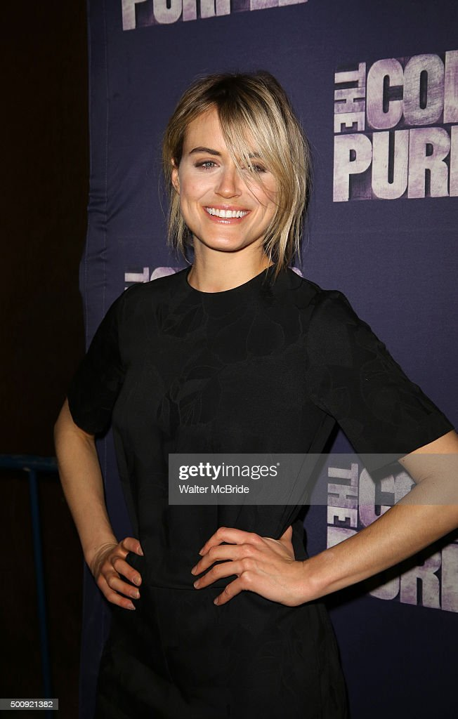 Taylor Schilling attends the Broadway Opening Night Performance of 'The Color Purple' at the Bernard B. Jacobs Theatre on December 10, 2015 in New York City.
