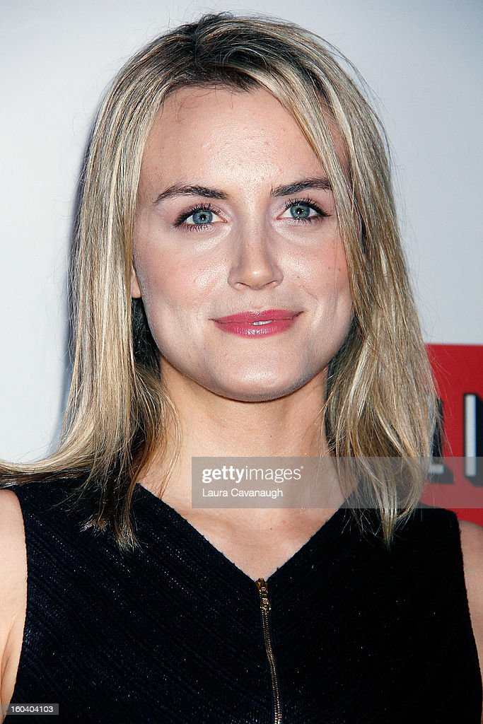 Taylor Schilling attends the 'House Of Cards' premiere at Alice Tully Hall on January 30, 2013 in New York City.