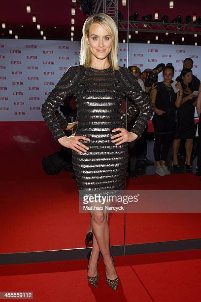 Taylor Schilling attends the Netflix pre launch party at Komische Oper on September 16 2014 in Berlin Germany