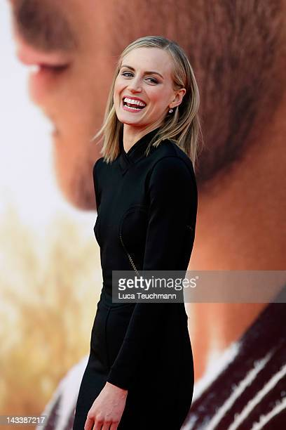 Taylor Schilling attends the The Lucky One Germany Premiere at CineStar on April 25 2012 in Berlin Germany