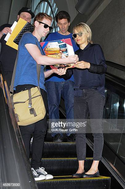 Taylor Schilling seen at LAX on August 22 2014 in Los Angeles California