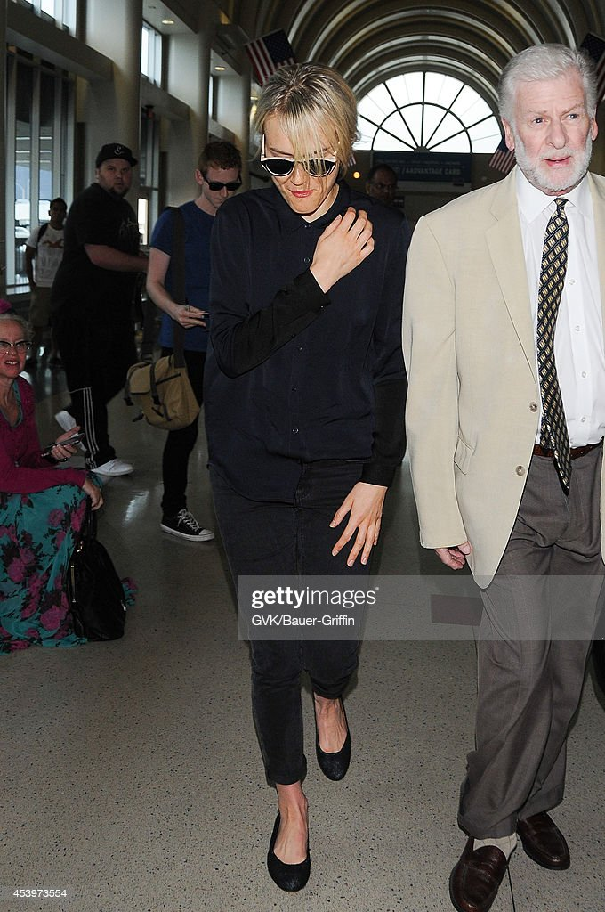 Taylor Schilling seen at LAX on August 22, 2014 in Los Angeles, California.