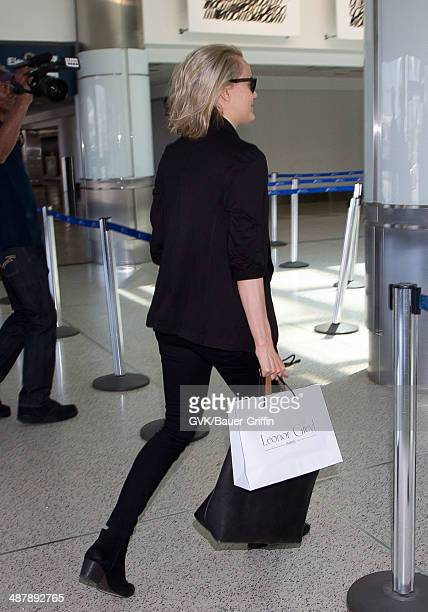 Taylor Schilling seen at LAX on May 02 2014 in Los Angeles California