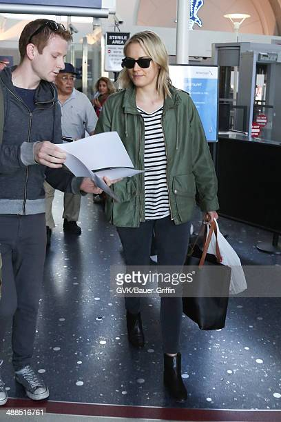 Taylor Schilling seen at LAX on May 06 2014 in Los Angeles California