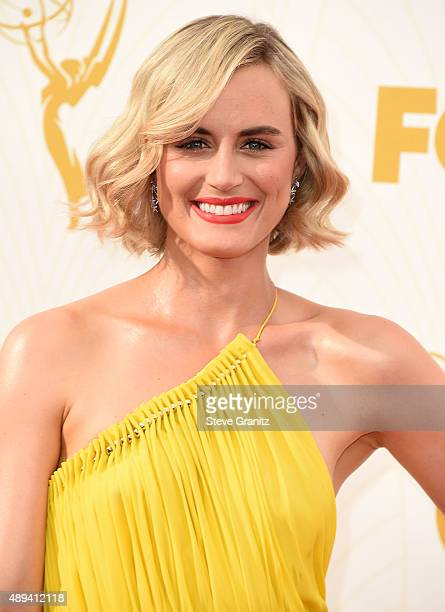 Taylor Schillling arrives at the 67th Annual Primetime Emmy Awards at Microsoft Theater on September 20 2015 in Los Angeles California
