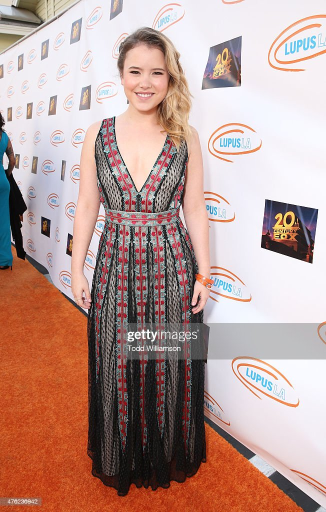 Taylor Spreitler attends Lupus LA's Orange Ball A Night Of Superheroes at Fox Studio Lot on June 6 2015 in Century City California