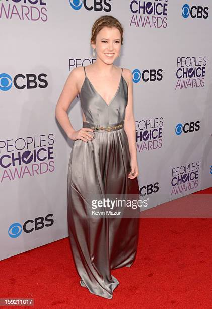 Taylor Spreitler attends the 2013 People's Choice Awards at Nokia Theatre LA Live on January 9 2013 in Los Angeles California