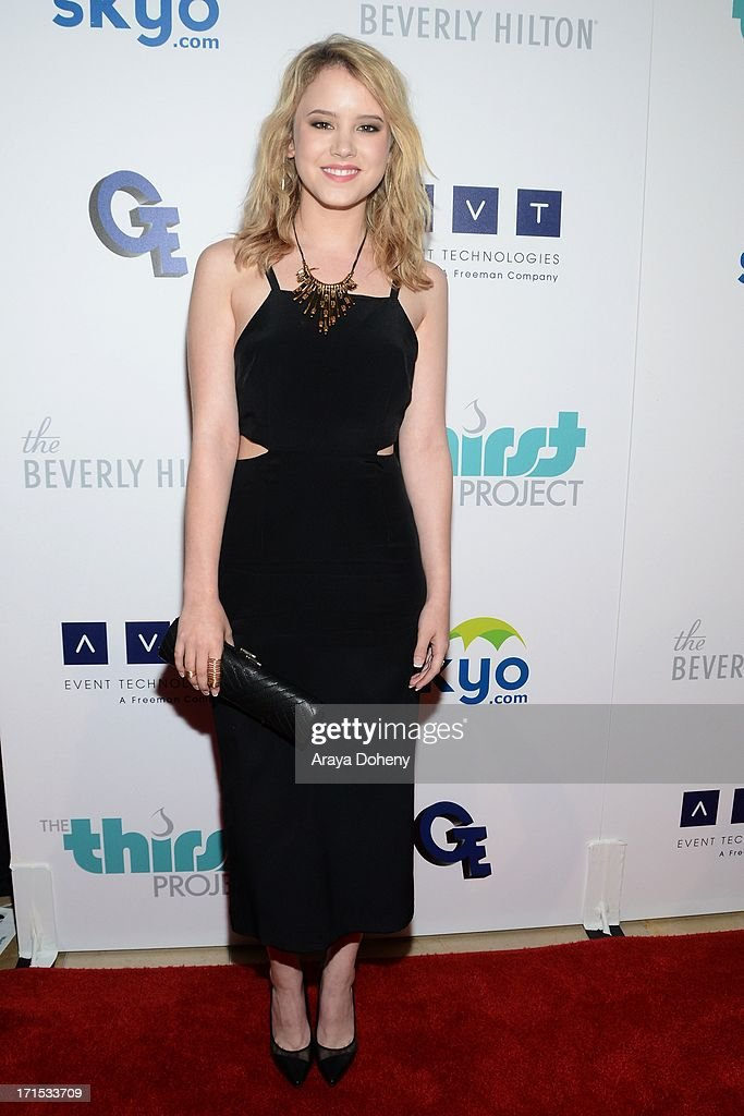 Taylor Spreitler attends the 4th Annual Thirst Gala at The Beverly Hilton Hotel on June 25, 2013 in Beverly Hills, California.