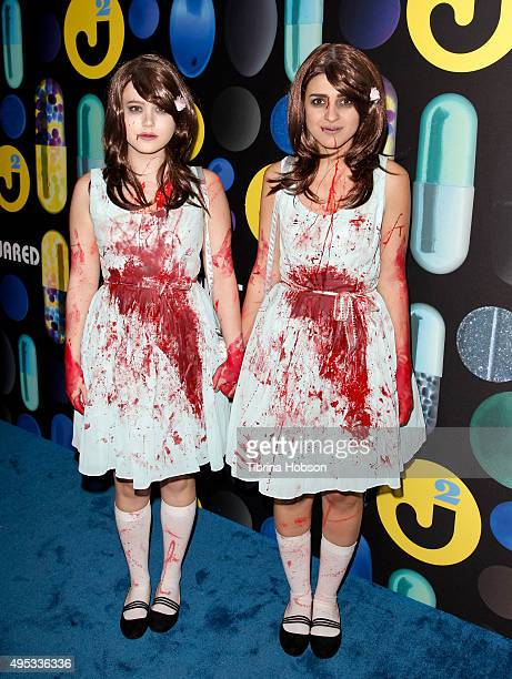 Taylor Spreitler attends the Just Jared Halloween Party at No Vacancy on October 31 2015 in Los Angeles California