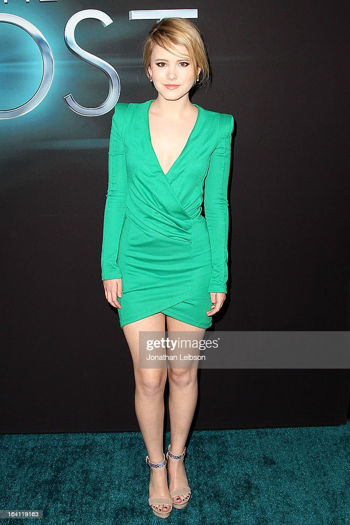 Taylor Spreitler attends the 'The Host' - Los Angeles Premiere at ArcLight Cinemas Cinerama Dome on March 19, 2013 in Hollywood, California.