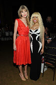 Taylor Swift and Nicki Minaj attend the Billboard's Sixth Annual Women in Music event at the Capitale on December 2 2011 in New York City
