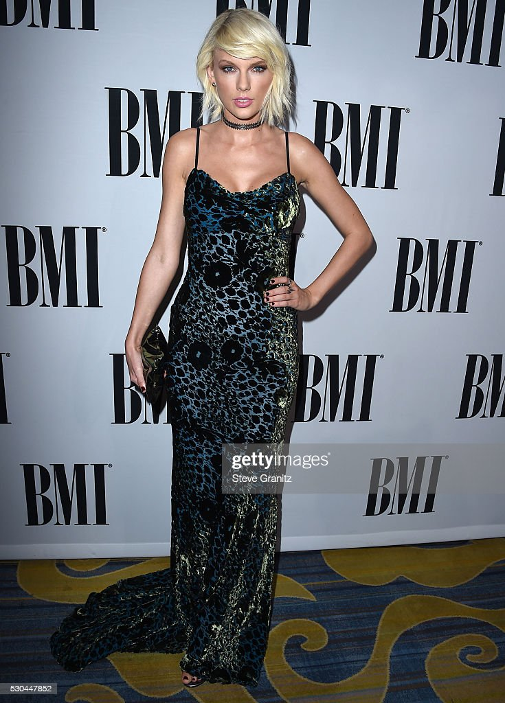 Taylor Swift arrives at the 64th Annual BMI Pop Awards at the Beverly Wilshire Four Seasons Hotel on May 10, 2016 in Beverly Hills, California.