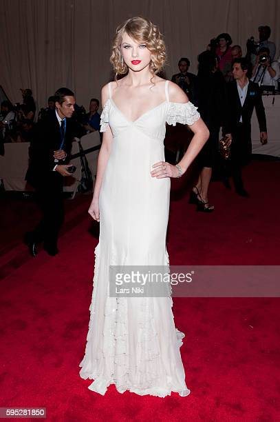 Taylor Swift attends 'American Woman Fashioning A National Identity' Costume Institute Gala at The Metropolitan Museum of Art in New York City