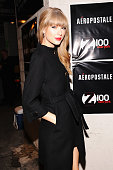 Taylor Swift attends backstage at Z100's Jingle Ball 2012 presented by Aeropostale at Madison Square Garden on December 7 2012 in New York City