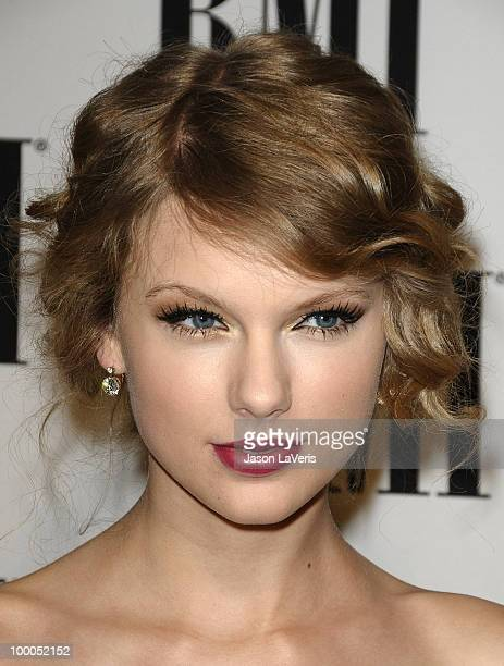 Taylor Swift attends BMI's 58th annual Pop Awards at the Beverly Wilshire Hotel on May 18 2010 in Beverly Hills California