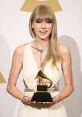 Taylor Swift attends The 55th Annual GRAMMY Awards press room held at Staples Center on February 10 2013 in Los Angeles California