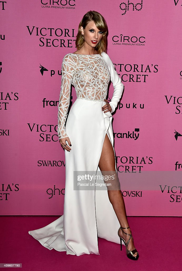 <a gi-track='captionPersonalityLinkClicked' href=/galleries/search?phrase=Taylor+Swift&family=editorial&specificpeople=619504 ng-click='$event.stopPropagation()'>Taylor Swift</a> attends the after party for the annual Victoria's Secret fashion show at Earls Court on December 2, 2014 in London, England.