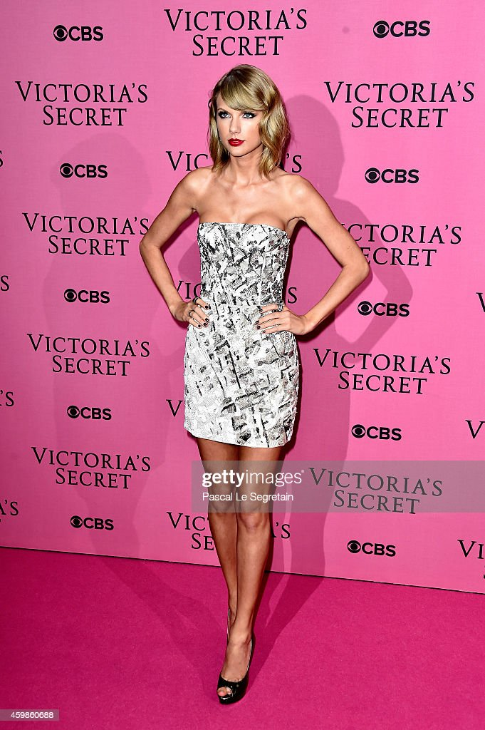 Taylor Swift attends the after party for the annual Victoria's Secret fashion show at Earls Court on December 2 2014 in London England