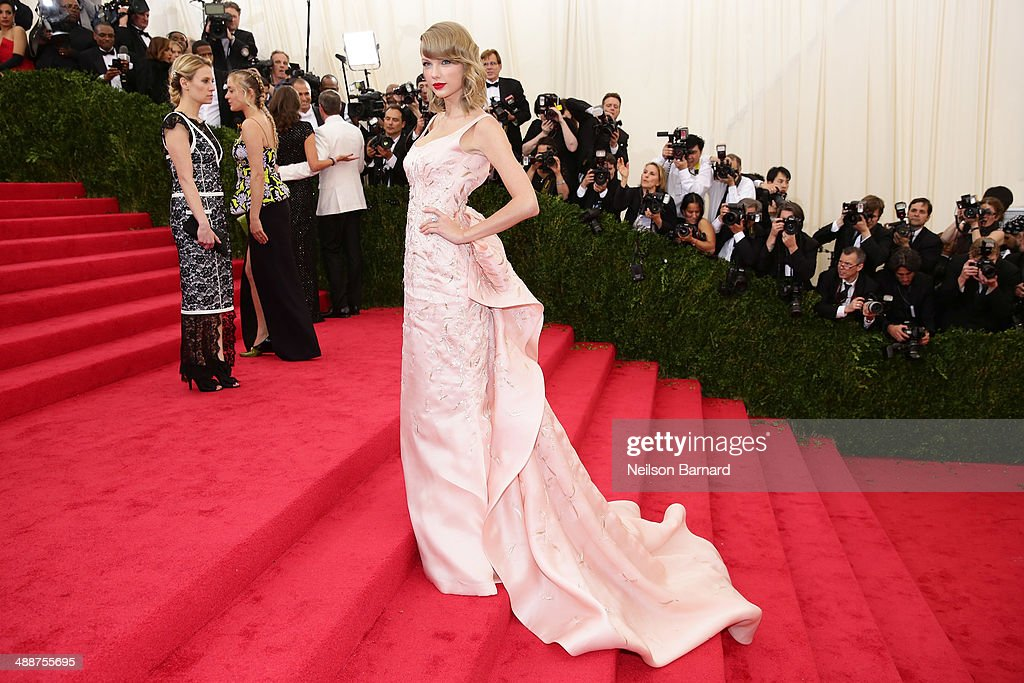 Taylor Swift attends the 'Charles James: Beyond Fashion' Costume Institute Gala at the Metropolitan Museum of Art on May 5, 2014 in New York City.
