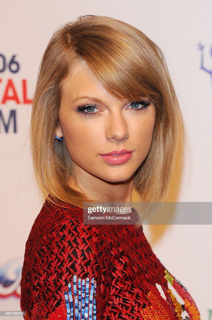 <a gi-track='captionPersonalityLinkClicked' href=/galleries/search?phrase=Taylor+Swift&family=editorial&specificpeople=619504 ng-click='$event.stopPropagation()'>Taylor Swift</a> attends the Jingle Bell Ball at 02 Arena on December 7, 2014 in London, England.