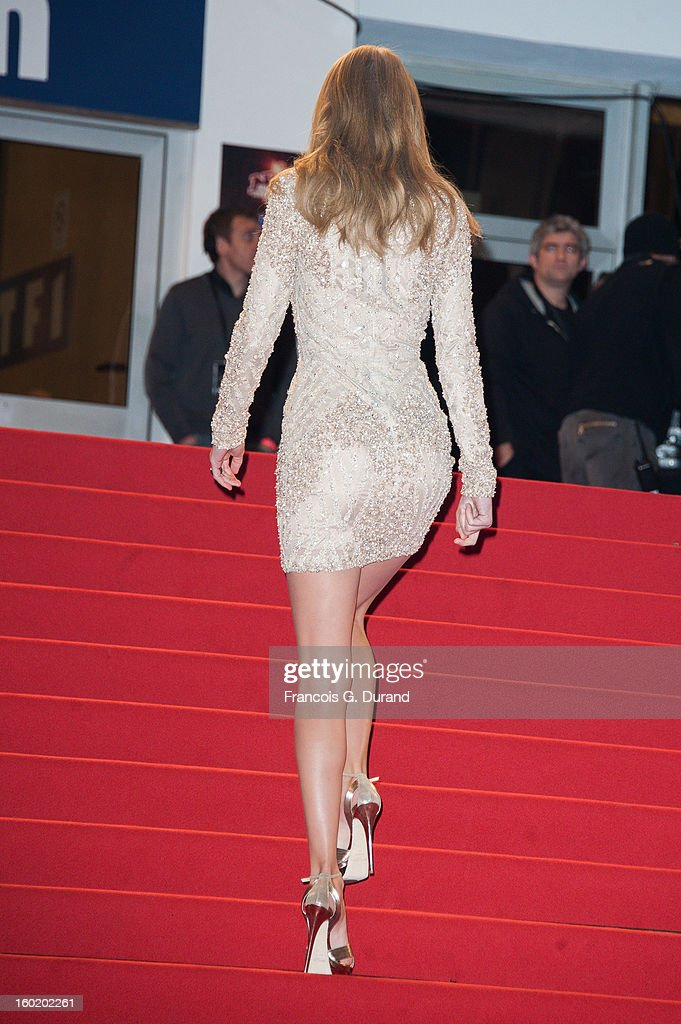 <a gi-track='captionPersonalityLinkClicked' href=/galleries/search?phrase=Taylor+Swift&family=editorial&specificpeople=619504 ng-click='$event.stopPropagation()'>Taylor Swift</a> attends the NRJ Music Awards 2013 at Palais des Festivals on January 26, 2013 in Cannes, France.