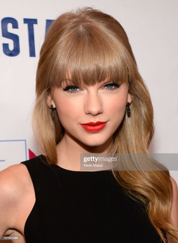 Taylor Swift attends Z100's Jingle Ball 2012, presented by Aeropostale, at Madison Square Garden on December 7, 2012 in New York City.