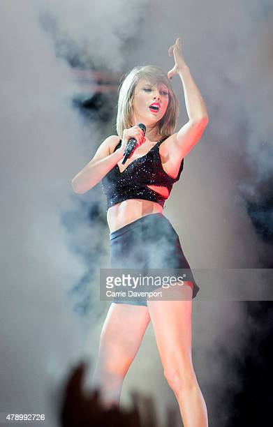 Taylor Swift brings The 1989 World Tour to 3Arena on June 29 2015 in Dublin Ireland