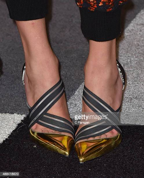 Taylor Swift Detail arrives to the 2015 MTV Video Music Awards at Microsoft Theater on August 30 2015 in Los Angeles California