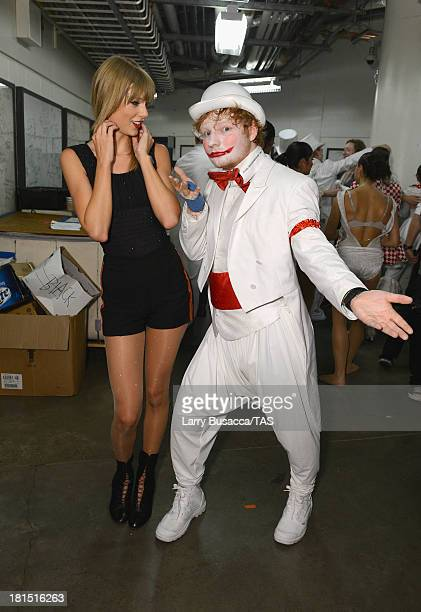 Taylor Swift is joined backstage by Ed Sheeran after she wrapped the North American portion of her RED tour playing to a crowd of more than 14000...