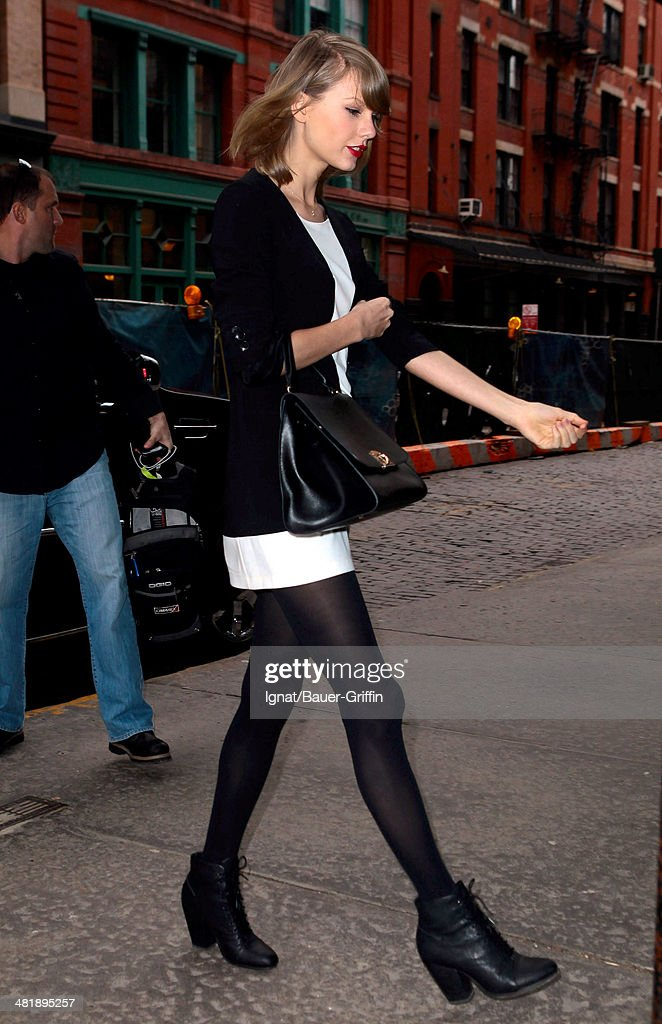 <a gi-track='captionPersonalityLinkClicked' href=/galleries/search?phrase=Taylor+Swift&family=editorial&specificpeople=619504 ng-click='$event.stopPropagation()'>Taylor Swift</a> is seen on April 01, 2014 in New York City.
