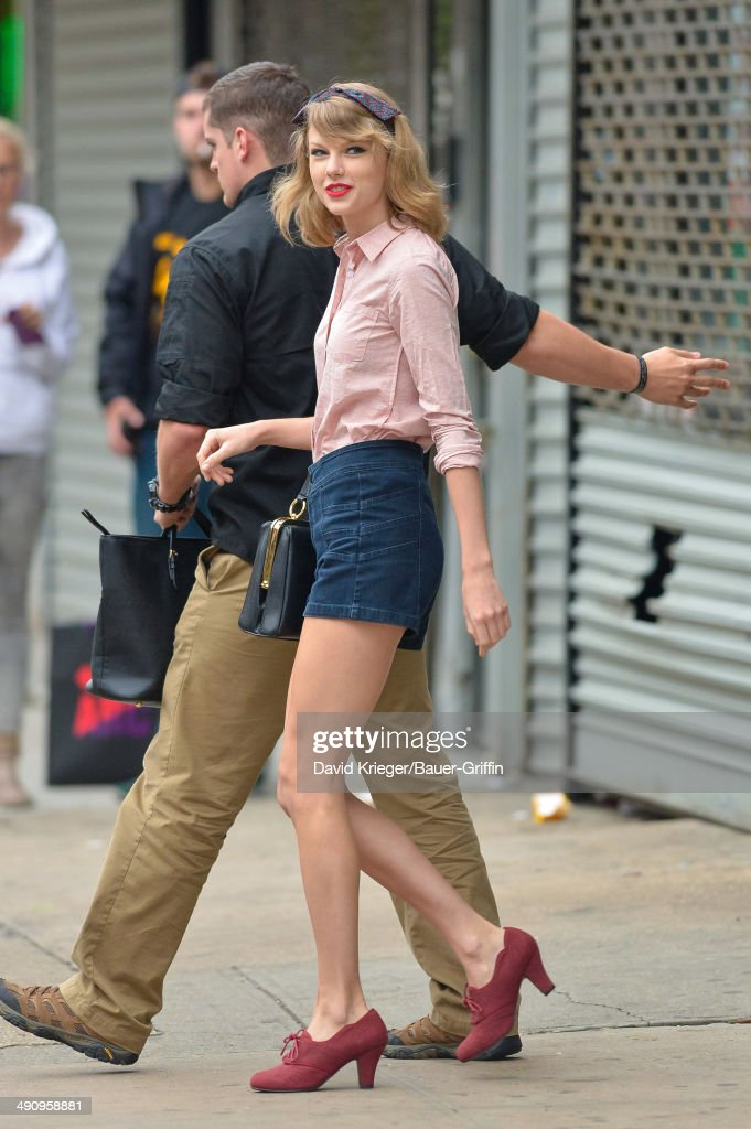 Taylor Swift is seen on May 15 2014 in New York City