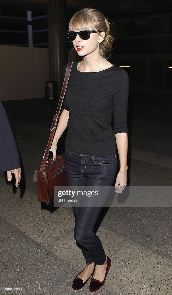 Taylor Swift is seen on November 12 2012 in Los Angeles California