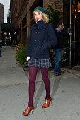 Taylor Swift leaves Locanda Verde on December 22 2014 in New York City