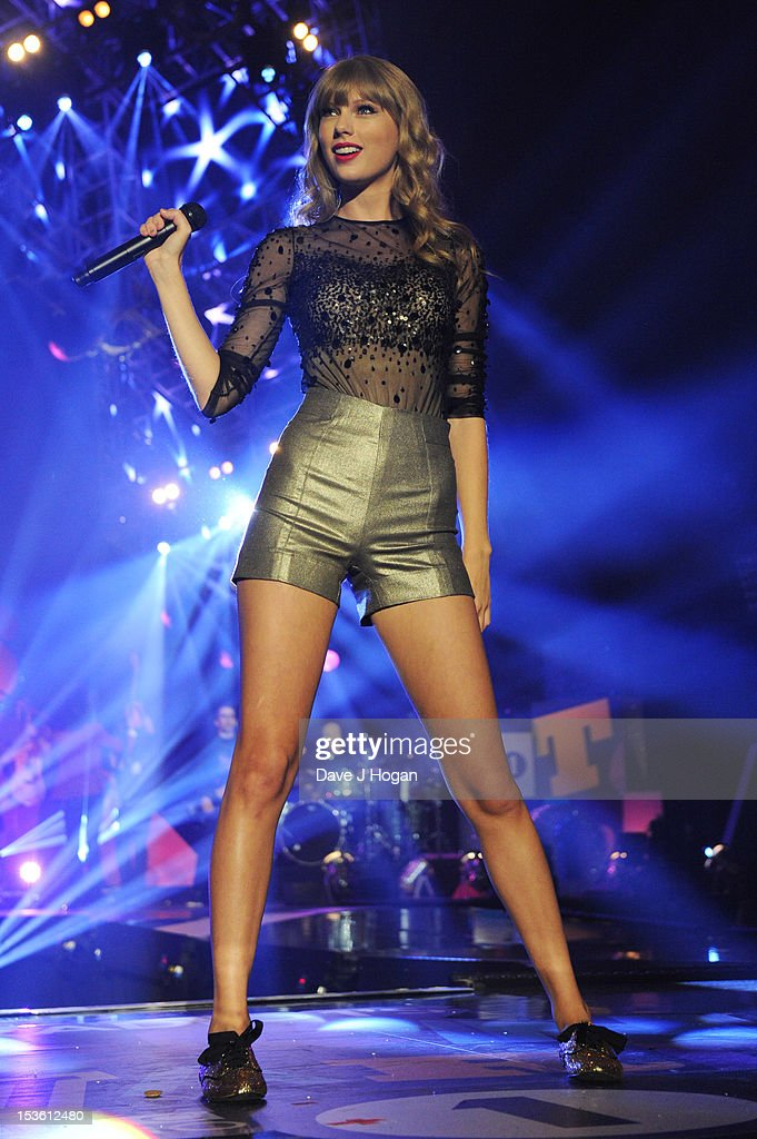 Taylor Swift performs at the BBC Radio 1 Teen Awards 2012 at Wembley Arena on October 7, 2012 in London. England