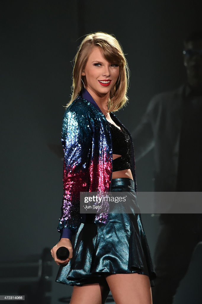 Taylor Swift performs during The 1989 World Tour at Tokyo Dome at