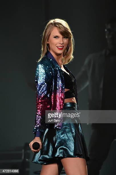Taylor Swift performs during The 1989 World Tour at Tokyo Dome at Tokyo Dome on May 6 2015 in Tokyo Japan