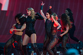 Taylor Swift Performs At Wembley Stadium