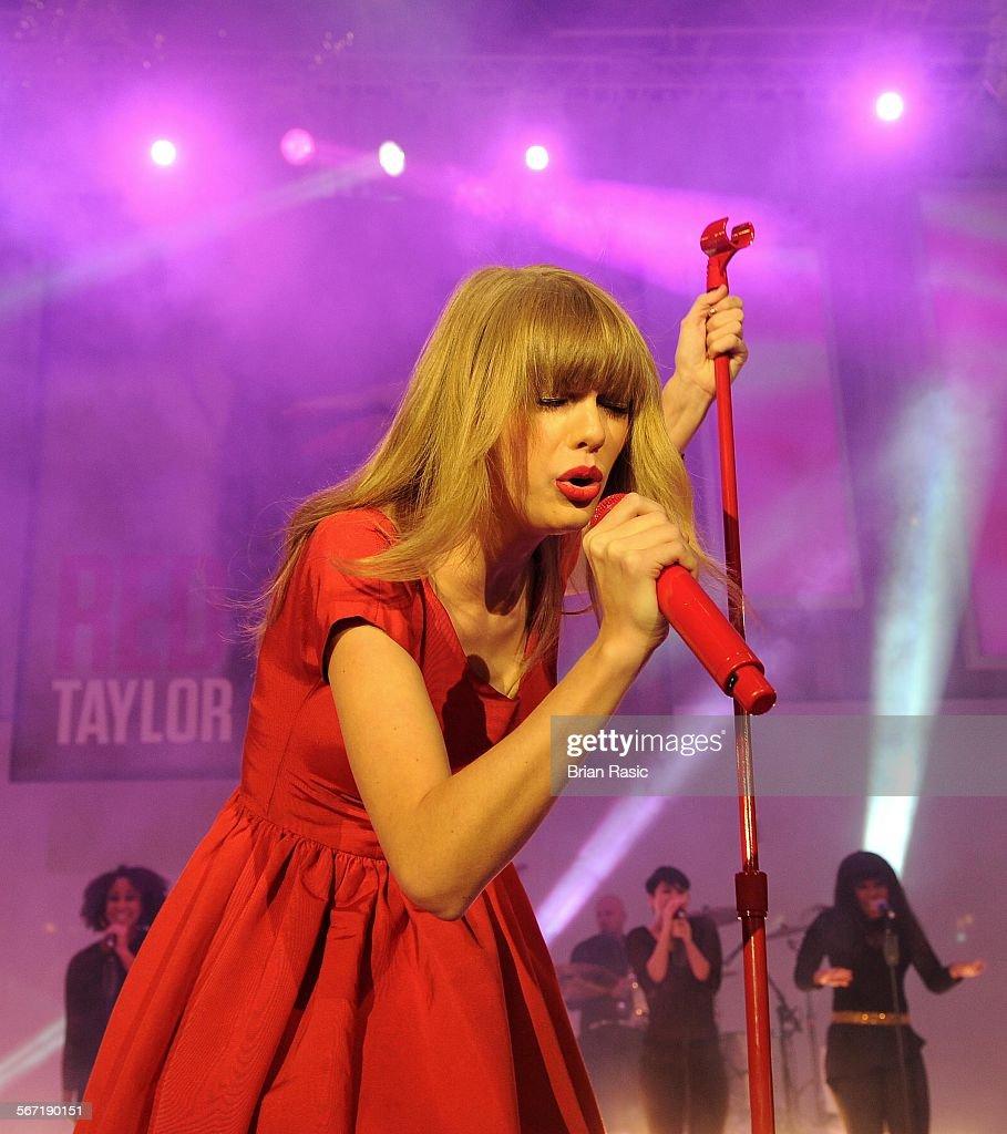 Christmas Lights Glisten Taylor Swift