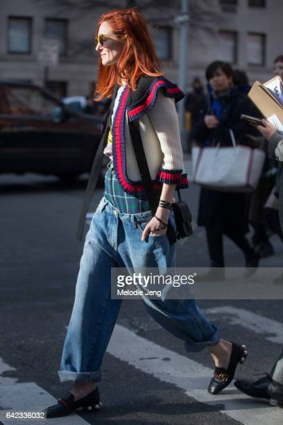 Taylor Tomasi Hill after the Marc Jacobs show on February 17 2017 in New York City