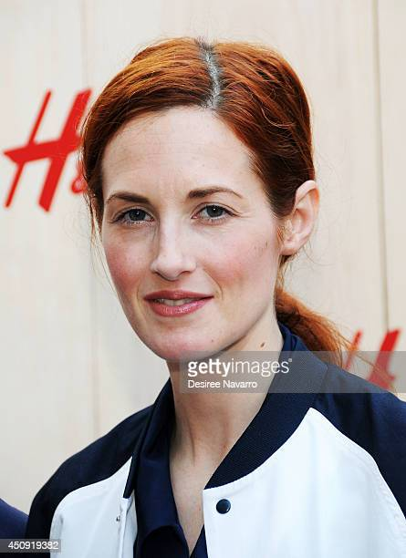 Taylor Tomasi Hill attends HM Summer Camp Party at Cafe de la Esquina on June 19 2014 in New York City
