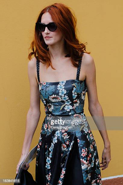Taylor Tomasi Hill attends the Marni show during Milan Fashion Week Womenswear Spring/Summer 2013 on September 23 2012 in Milan Italy