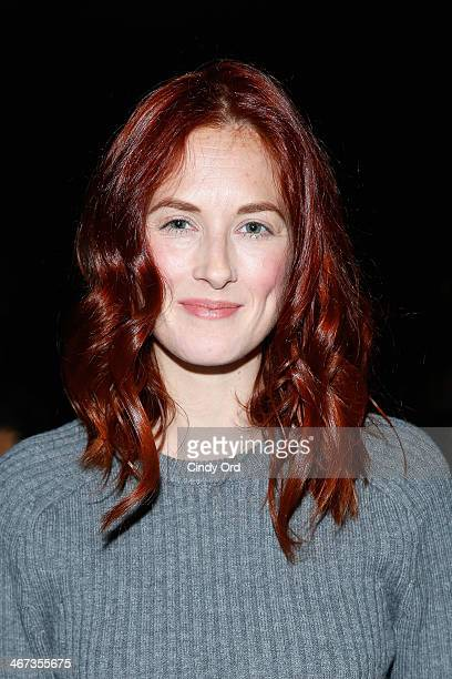 Taylor Tomasi Hill attends Tome fashion show during MercedesBenz Fashion Week Fall 2014 at The Pavilion at Lincoln Center on February 6 2014 in New...