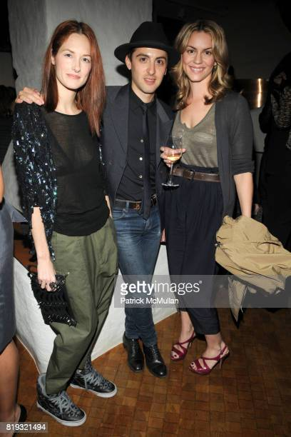 Taylor Tomasi Hill Eddie Borgo and Meegan Crum attend ISABEL MARANT NYC Store Opening Dinner at Kenmare on April 14 2010 in New York City