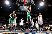 Tayshaun Prince of the Boston Celtics shoots against the Minnesota Timberwolves on January 28 2015 at Target Center in Minneapolis Minnesota NOTE TO...