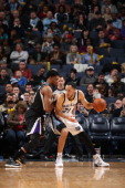 Tayshaun Prince of the Memphis Grizzlies controls the ball against the Sacramento Kings on January 17 2014 at FedExForum in Memphis Tennessee NOTE TO...