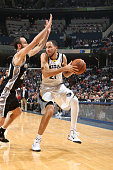 Tayshaun Prince of the Memphis Grizzlies handles the ball against the San Antonio Spurs on December 5 2014 at FedExForum in Memphis Tennessee NOTE TO...