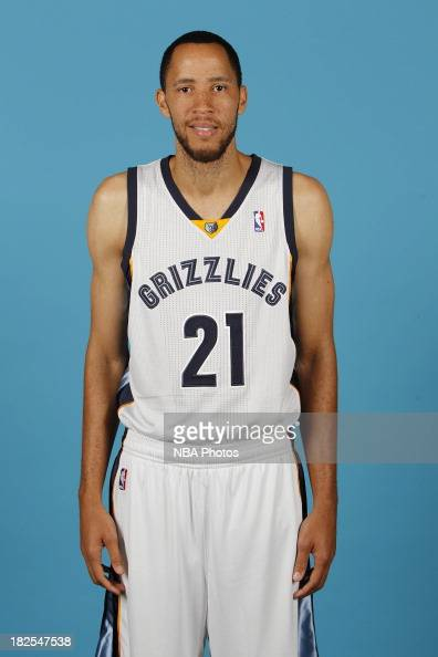 Tayshaun Prince of the Memphis Grizzlies poses for a portrait during ...