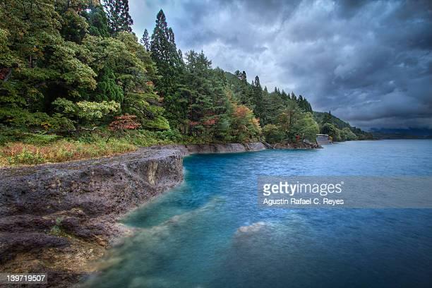 Tazawa lake,deepest lake in Japan