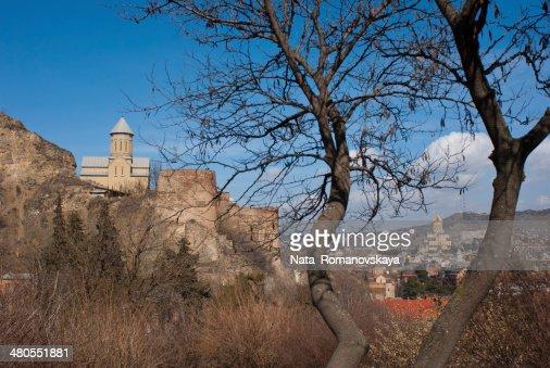Panorama de Tbilisi : Foto de stock