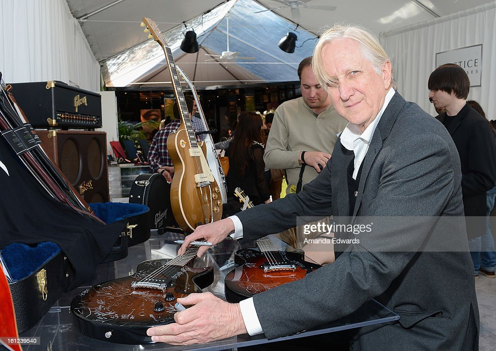 T-Bone Burnett attends the GRAMMY Gift Lounge during the 55th Annual GRAMMY Awards at STAPLES Center on February 9, 2013 in Los Angeles, California.